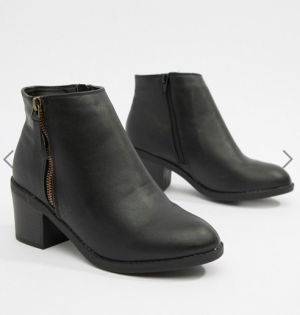 Chunky Heeled Chelsea Boots