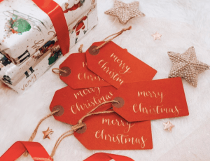 Personalised Festive Gift Tags
